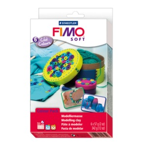 "FIMO® soft material pack ""cool colours"""