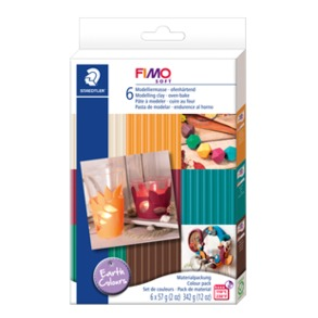 "FIMO® soft Material pack ""Earth colours"""