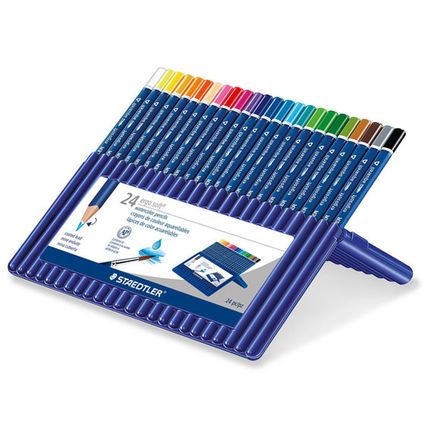 STAEDTLER ergosoft: aquarell triangular watercolour pencil