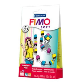"FIMO® soft DIY jewellery pack ""cubes"""