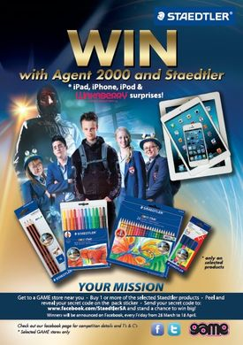 STAEDTLER and Agent 2000 competition