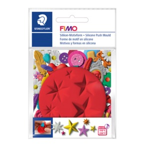 "FIMO® Silicone Push Mould ""Stars"""