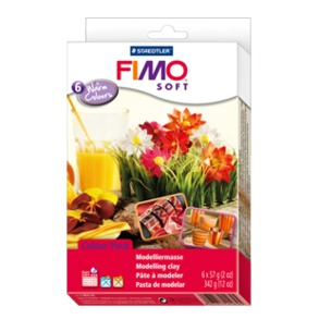 "FIMO® soft material pack ""warm colours"""