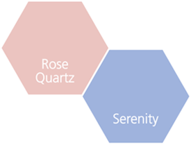 Trendcolours 2016 Rose Quartz, Serenity