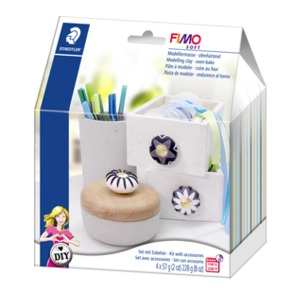 "FIMO® soft DIY Home deco set ""Knobs"""