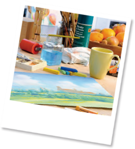 Tips for soft pastel chalk painting