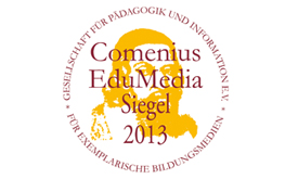 Comenius EduMedia Siegel 2013