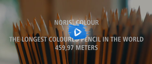 STAEDTLER world record: Longest coloured pencil in the world