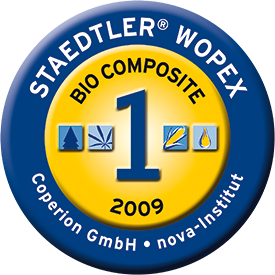 STAEDTLER WOPEX: Bio composite no. 1 of the year 2009