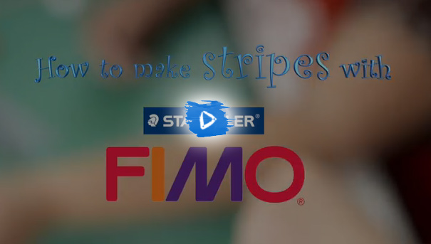 How to make stripes with FIMO