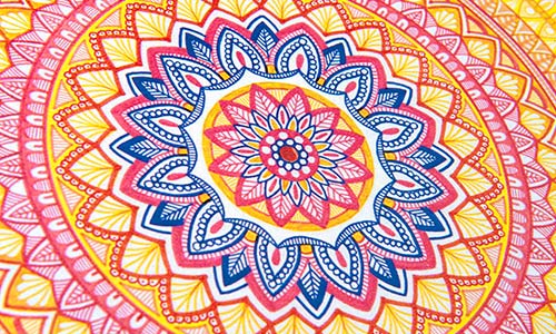 mandala - Colouring In Patterns